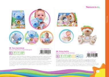 Nuco Aprendizaje Famosa 700010793 Nenuco Baby